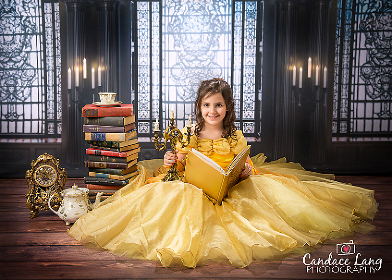 Beauty And The Beast Photo Shoot Candace Lang Photography